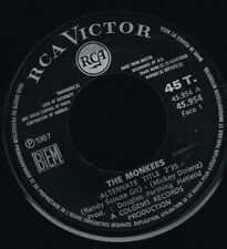 """45T 7"""": the Monkees: alternate title. RCA. A16"""