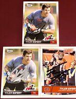 Tyler Eifert Jacksonville Jaguars NFL TE football card auto autograph LOT X3 RC