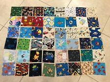 """5"""" CHARM SQUARES- LOT of 48  - QUILT FABRIC, Novelty Quilt fabrics"""