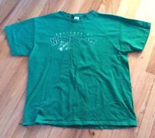 University of Notre Dame Adult Size XL  Green T-shirt Distressed