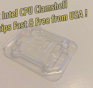 Intel CPU Clamshell Tray Case Container For Intel 478 775 1150 1155 1156