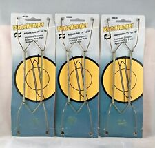 """ELCO Anchor Wire 11"""" To 18"""" Collector Decorative Plate Hanger 46630 3 PACK USA"""