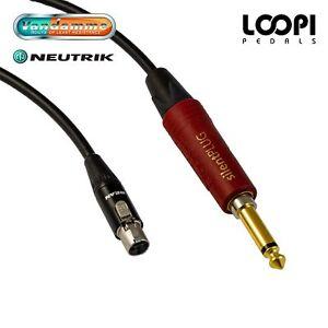 Line 6 G50 G55 G90 Lead Short - Van Damme cable w/ Neutrik Silent Straight Jack
