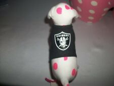 Victorias Secret Pink Oakland Raiders Mini Dog NFL NWT