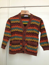MISSONI MULTICOLOR CARDIGAN 8 ANNI 8 YEARS MADE IN ITALY PERFECT! RARE NEW!