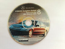 01 2002 2003 MERCEDES CL500 CL55 CL65 CL600 AMG NAVIGATION MAP CD 8 MID ATLANTIC