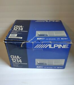 ALPINE CHA-1214 12CD Changer (New, Open Box Missing Catridge)