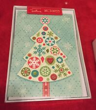Seasons from Hallmark Christmas Cards Holiday Boxed Cards Christmas Tree 16 Pack