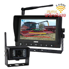 "7"" 2.4G Digital Wireless Car Rear View Camera system With Waterproof CMOS Camera"
