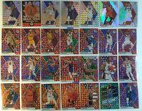 2019-20 Mosaic Basketball Lot Reactive Blue & Orange, Green Mosaic Silver & More
