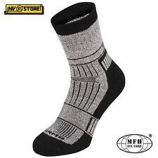 Calze Termiche MFH Thermo Socks Alaska Invernali Imbottite Tecniche GREY Grigio