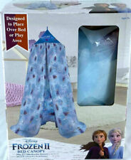 Disney Frozen 2 Bed Canopy Tent Netting Olaf Princess Elsa Anna 100 x 130 x 15in