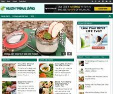 Healthy Primal Living Blog New Established Profitable Turnkey Website For Sale