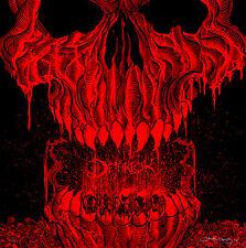 James Flames BRUTAL MASTERS Print Metalocalypse Dethklok Dethalbum Poster Signed
