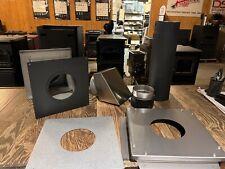 Leisure Line Coal Stove Direct Vent- Rear Termination Kit