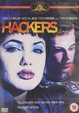 Hackers (1991) Region 4 DVD Angelina Jolie Jonny Lee Miller