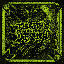 BRUTAL TRUTH / BASTARD NOISE The Axiom of Post... CD NEW Relapse Records CD7211R