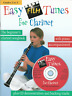 EASY CLARINET FILM SONGS Sheet Music Book & Playalong CD - Grades 2 to 3