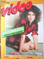 VIDEO La Tua Televisione n°38 1985 GHOSBUSTERS - catalogo Video erotici  [D27]