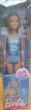 Barbie Water Play - Barbie Beach Summer Doll - Baby Blue Bathing Suit