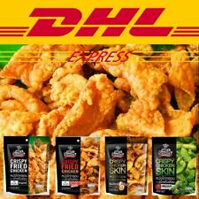 Snack Crispy Fried Chicken Skinx12 Original&spicy hot Sichuan Pepper Party Halal