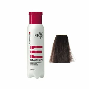 Goldwell Elumen NB@5 Deep Natural Brown 6.7 oz / 200 ml amonia peroxide free
