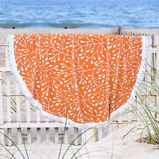SALE $40 Off LARGE ROUND 150cm BEACH TOWEL Soft Thick BABY BLANKET, Yoga, Sports