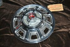 66 FAIRLANE NOS WHEEL COVER C6OA 1130 C ORIGINAL FORD ''PATTERN PIECE'' HUBCAP