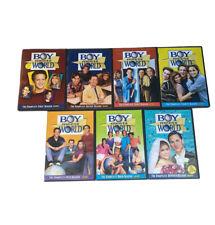 Boy Meets World Complete Series Seasons 1-7 (DVD, 21-Disc Set) - Very Good Cond