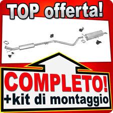 Scarico Completo PEUGEOT 307 1.4 16V 90CV 2-Volumi dal 2003 Marmitta M90A