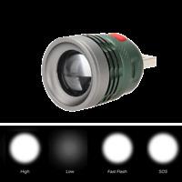 Super Bright Mini USB LED Spotlight Torch Flashlight 3W Extension Light Torch