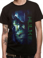 Thor Ragnarok Hulk Face Script Loki Marvel Licensed Black Mens T-shirt