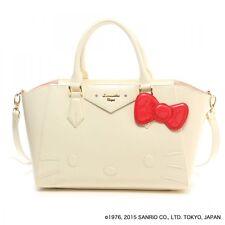 Samantha Thavasa Vega Hello Kitty Azel Enamel Hand Shoulder Bag LARGE