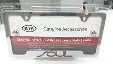Kia Soul Chrome License Plate Frame UR010-AY105UL OEM 50 State Certified!