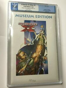 ULTIMATE X-MEN #1 RARE FRENCH MUSEUM EDITION WITH COA MARVEL FRANCE PGX 9.0