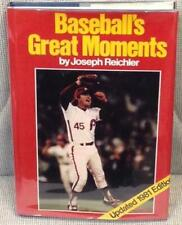 Joseph Reichler / BASEBALL'S GREAT MOMENTS 1981