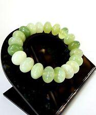 Bracelet en Jade Citron Lithothérapie Minéraux Bijoux en Pierre Naturelle