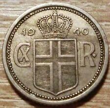 Island  25  Aurar  1940