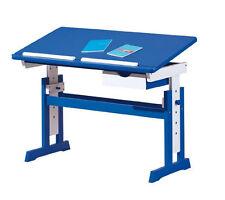 Blue Desks for Children
