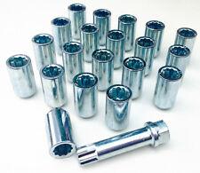 20 x wheel Tuner Slim nuts lugs bolts M12x1.25, Taper, star key - Alfa