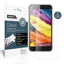 2x ZTE Nubia N1 Lite Screen Protector matte Flexible Glass 9H dipos