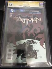 Batman #7 (2012, DC New 52) CGC SS 9.8 signed By Greg Capullo, 1st Harper Row