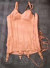 Vintage Susa Tightlaced Corset 4 Suspender Girdle Size 86 Cup B or C