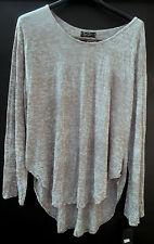Damenbluse Shirt Tunika SARAH SANTOS leichte Sommerbluse mit Spitze Lagenlook