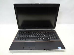 """Dell Latitude E6520 15.6"""" Laptop 2.5 GHz i5-2520M 4GB RAM (Grade B No Webcam)"""