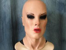 Latex Mask EMILIA B- Real. Female Rubber Woman Face Transgender Crossdresser Gum