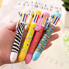 Little Pens Girl Korean Office Ballpoint Pen Stationery Cute 8 In 1 Color