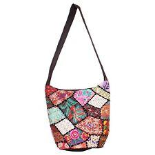 Collage Going Girls Trendy Design Chicken Patch Work Bag Attractive Look BG-14D