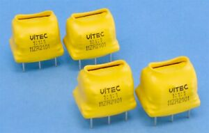 4 (Four) 1:1:1 Vitec Trigate Isolation Z-Matching Pulse Transformers 11ZR2101