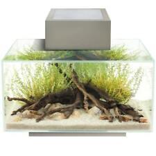 Aktion !!! Aquarium Fluval Edge zinnfarben 23 Liter mit LED-Beleuchtungssystem